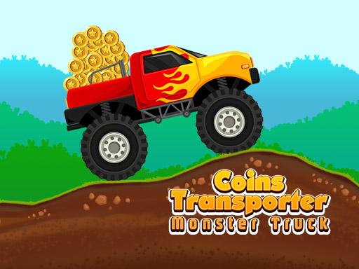Coins Transporter Monster Truck
