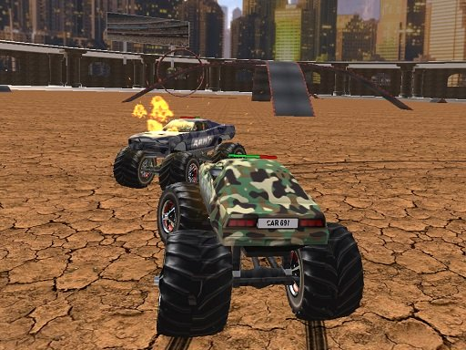Demolition Monster Truck Army 2020