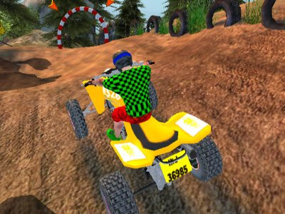 Quad Bike Offroad Racing