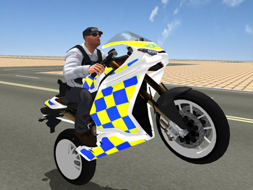 Super Stunt Police Bike Simulator 3D