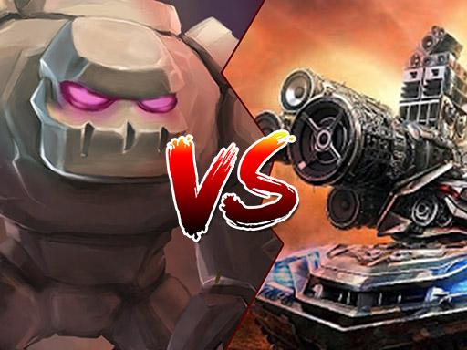 Tank VS Golems